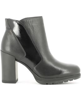 107327 Ankle Boots Women Women's Low Ankle Boots In Black