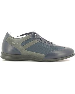 Su73433g Sneakers Man Blue Men's Shoes (trainers) In Blue
