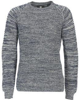 Suzaki R Knit Men's Sweater In Blue