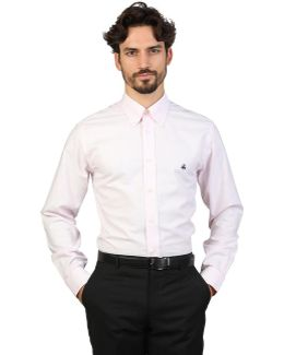 100047224_rosa Men's Long Sleeved Shirt In Pink