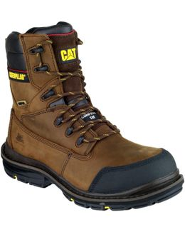 Cat Doffer Men's Walking Boots In Brown