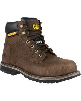 Cat Electric 6 Brown Men's Mid Boots In Brown