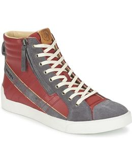 D-string Plus Men's Shoes (high-top Trainers) In Red