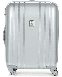 Aircraft Val Tr Slim 55 Cm Men's Hard Suitcase In Silver