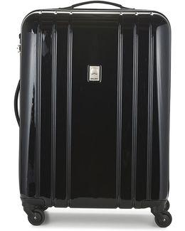 Aircraft Val Tr Slim 66 Cm Men's Hard Suitcase In Black