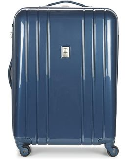 Aircraft Val Tr Slim 66 Cm Men's Hard Suitcase In Blue