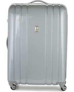 Aircraft Val Tr Slim 76 Cm Men's Hard Suitcase In Silver