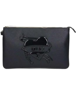 A17185e0140 Clutch Women's Bag In Black