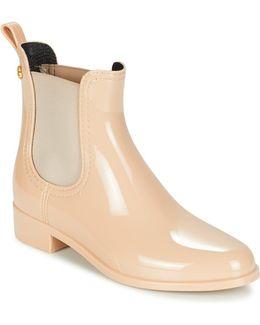 Comfy Women's Mid Boots In Beige