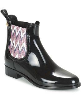 Harper Women's Mid Boots In Black