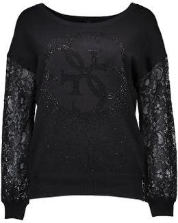 Gr_70670 Women's Sweatshirt In Black