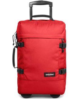 Ek66198m Medium Trolley Accessories Men's Pilot Case In Red