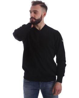 6xpmz7 Pm04z Jumper Man Black Men's Polo Shirt In Black