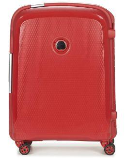 Belfort Plus 4r Slim 55cm Men's Hard Suitcase In Red