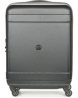Indiscrete Hard 4r 66cm Men's Hard Suitcase In Black