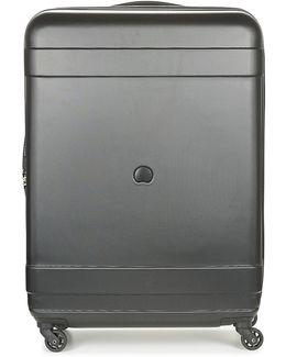 Indiscrete Hard 4r 76cm Men's Hard Suitcase In Black