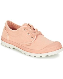 Us Oxford Lp F Women's Shoes (trainers) In Pink