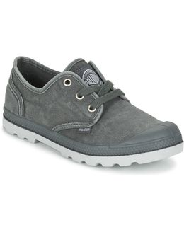 Us Oxford Lp F Women's Shoes (trainers) In Grey