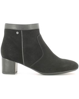 107062 Ankle Boots Women Women's Mid Boots In Black