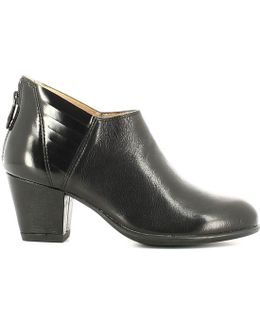107160 Ankle Boots Women Women's Mid Boots In Black