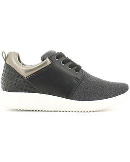 Sw24405 001 P48 Sneakers Women Black Women's Walking Boots In Black