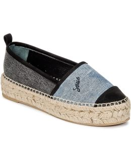 622304 Women's Espadrilles / Casual Shoes In Blue