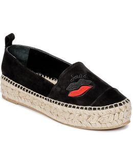 622305 Women's Espadrilles / Casual Shoes In Black