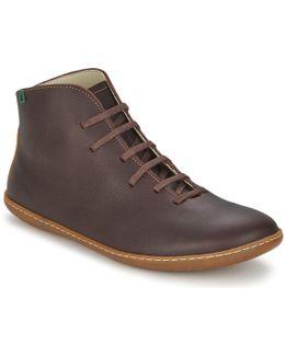El Viajero Men's Mid Boots In Brown