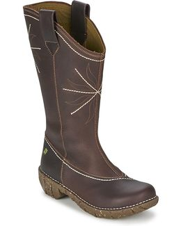 Yggdrasil Women's High Boots In Brown