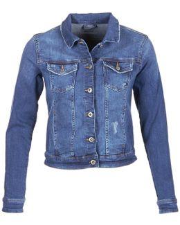 Crovetta Women's Denim Jacket In Blue