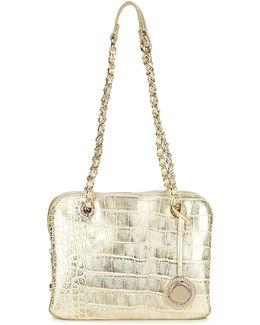 E3vpbbc2 Women's Shoulder Bag In Gold