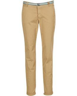 Houissa Women's Trousers In Beige