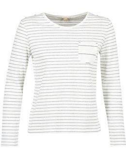 Modivalo Women's Long Sleeve T-shirt In White