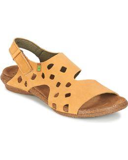 Wakataua Women's Sandals In Yellow