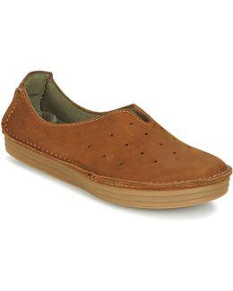Rice Field Women's Slip-ons (shoes) In Brown