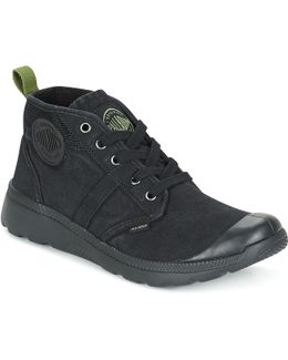 Palaville Hi Men's Shoes (high-top Trainers) In Black