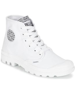 Pampa Hi 70th Anniversary Men's Mid Boots In White