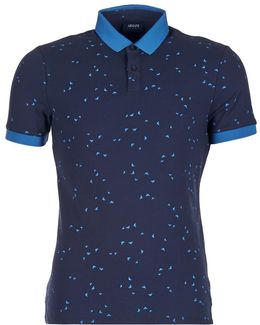 Mesola Men's Polo Shirt In Blue