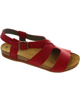 Nf46 Women's Sandals In Red
