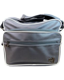 Freeman Men's Messenger Bag In Grey