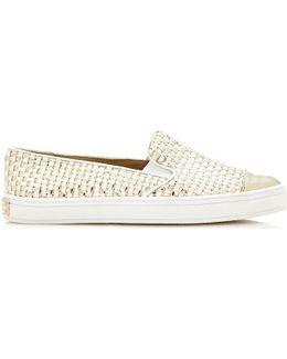Flkla1 Lel12 Slip-on Women Gold Women's Sandals In Gold