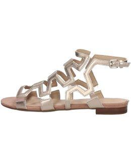 Flrl22 Lel03 Sandals Women's Sandals In Beige