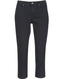 Karavoti Women's Cropped Trousers In Black