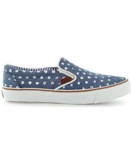 Alford Denim Pls30328 Women's Slip-ons (shoes) In Blue