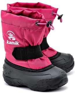 Tickle Women's Snow Boots In Pink
