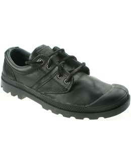 Pallabrouse Ox Lea Men's Casual Shoes In Black
