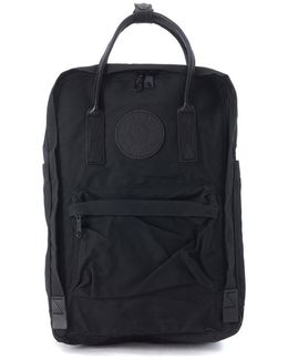 Kånken By 15 Apos; Apos; Black Backpack With Leather Handles Men's Backpack In Black