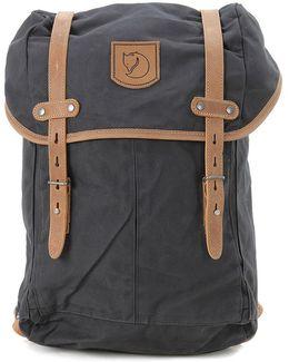 Kanken Anthracite Grey Backpack Men's Backpack In Grey