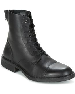 D-pit Boot Men's Mid Boots In Black