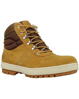 Montreal Men's Shoes (high-top Trainers) In Brown